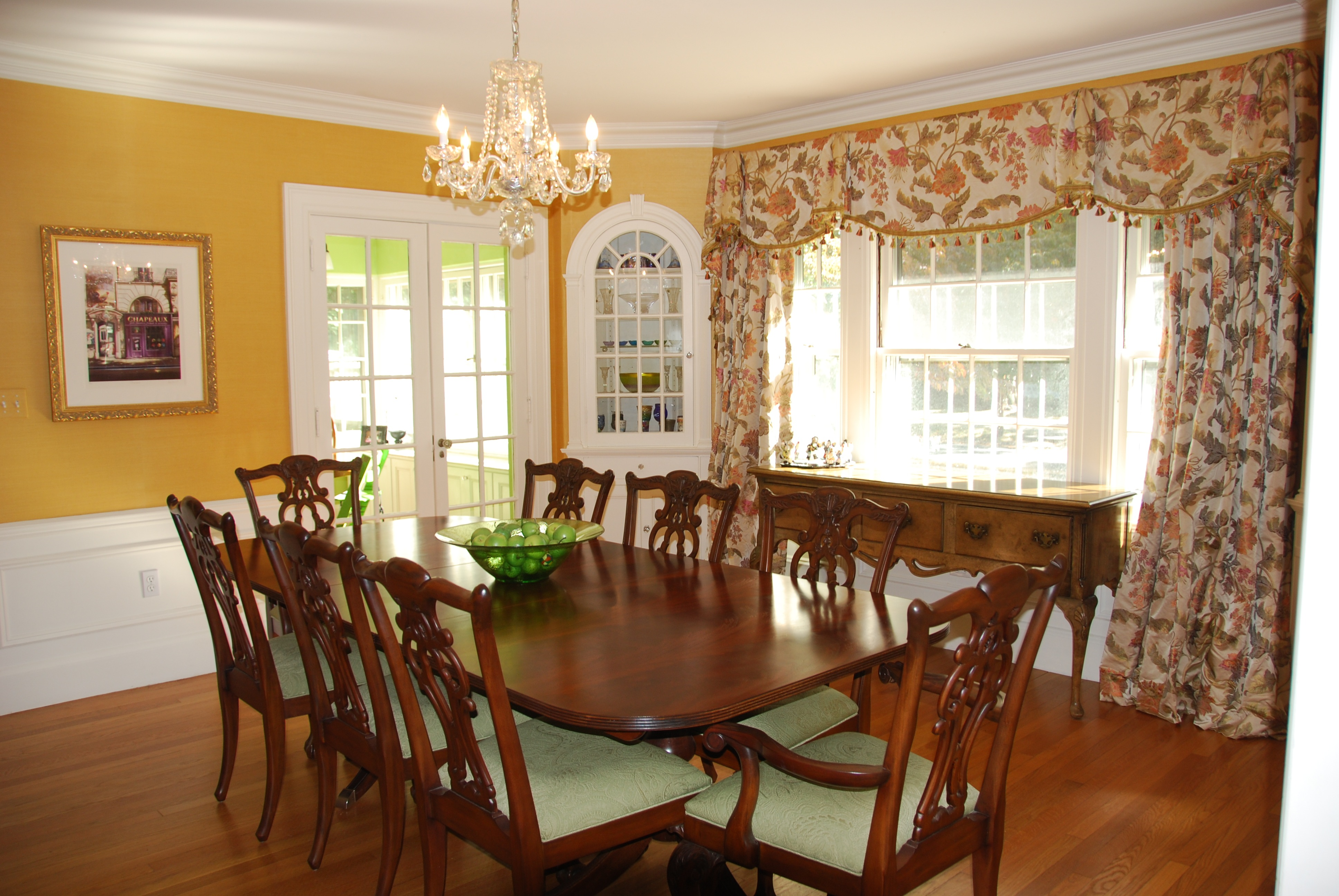 The dining room tour felt so cute for Ethan allen dining room