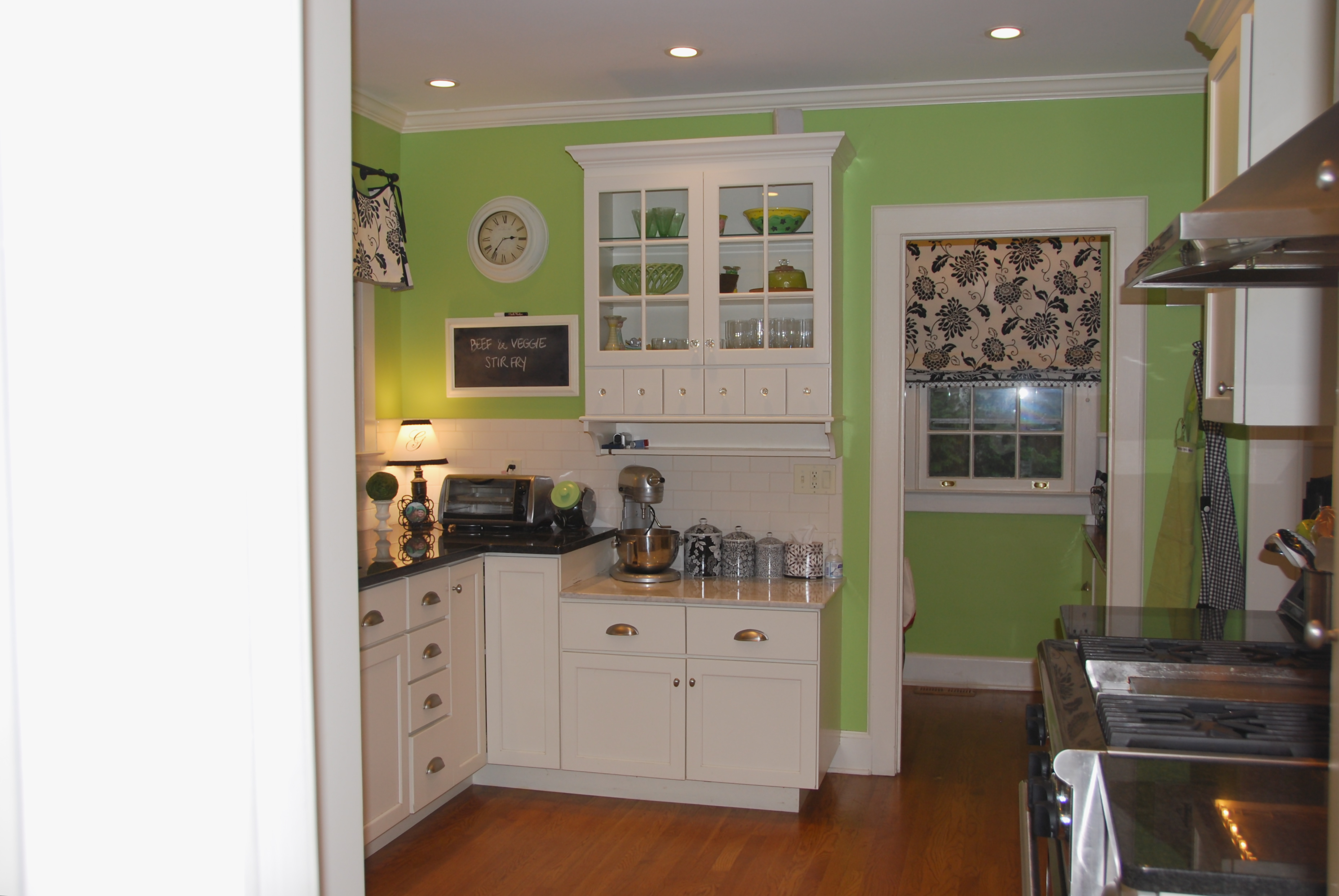 benjamin moore green kitchen the kitchen tour felt so 4418