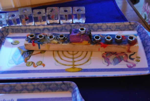 wooden menorah plans