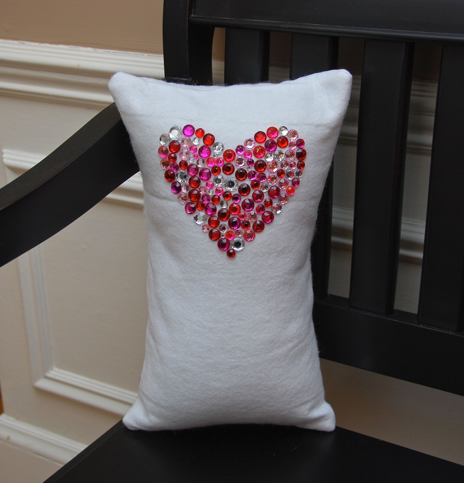Valentines Pillows by Felt So Cute - Renovations - Haven Home - Business Directory